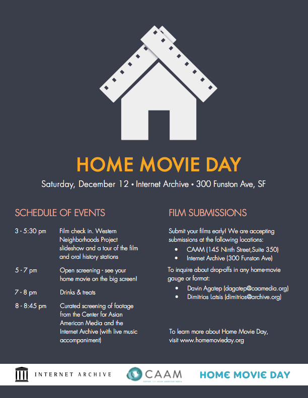 Home movie history project