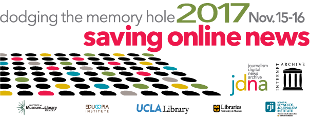 The Internet Archive Will Host The Dodging The Memory Hole Dtmh Forum Nov Th This Will Be The Fifth In The Series Of Outreach Efforts Over The