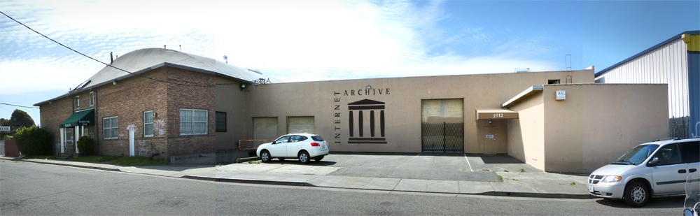The new Internet Archive facility in Richmond, California, click to enlarge