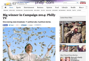 Political campaign ads