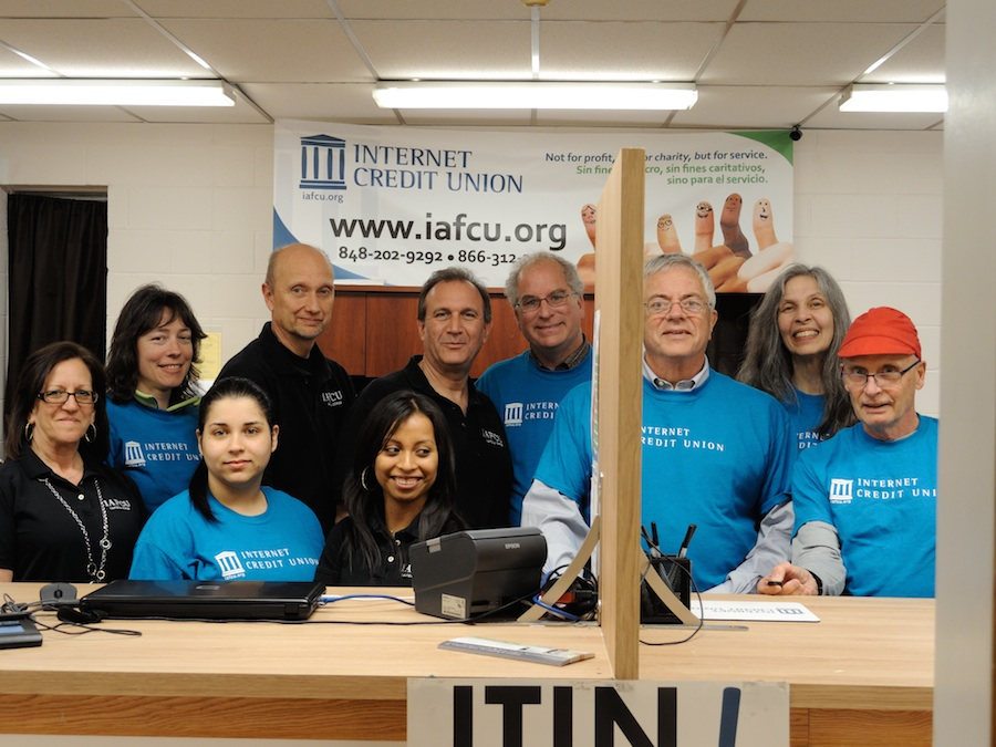 Internet Credit Union board and staff in April 2014.