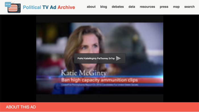 political ad archive