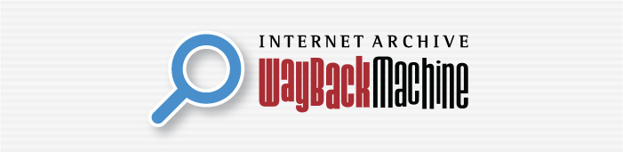 Wayback Machine with Site Search